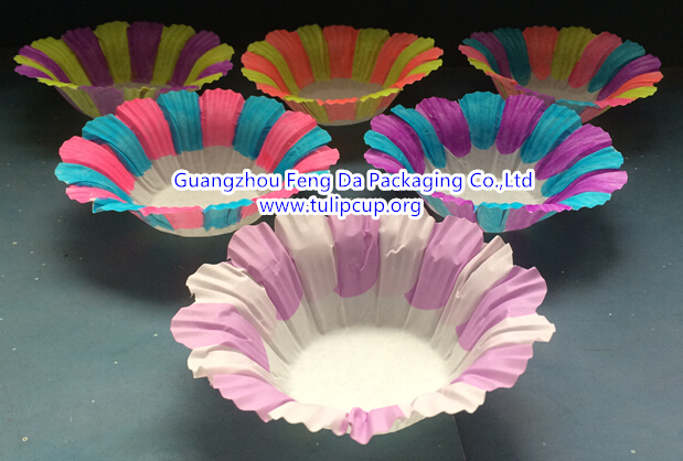 flower baking cup